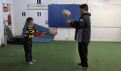 Home Training - Passing with Dad