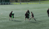 Developing running lines to attack
