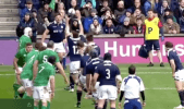 Scotland New Lineout Move
