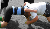 Safe Body Position For Scrummaging