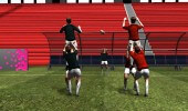 Lineout lifting practice - semi opposed 2