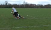 Coaching the leg Tackle