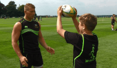Lineout Throw with Dylan Hartley