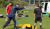Scrum Half Passing with Chris Cusiter - Wrist Warm-Up